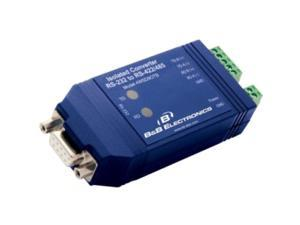 B&B Isolated RS-232 DB9 Female To RS-485 Terminal Block Converter