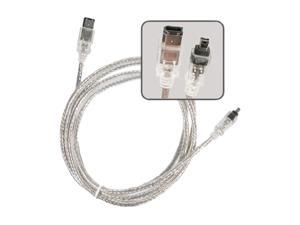 Insten 675620 6 ft. IEEE 1394 Firewire Cable M-M