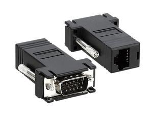 Insten 675686 2-pack VGA Extender to RJ45 Adapter