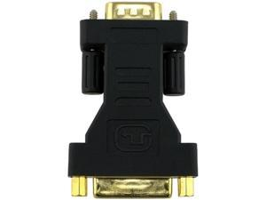 Insten 2-Pack DVI-I (24+5) Female to VGA Male Converter Adapter Gold Plated F-M