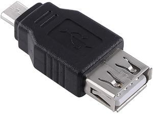 Insten 1132140 1X USB 2.0 A to Micro B Female / Male Adapter, Compatible with HTC One M7