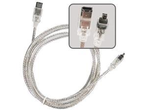 Insten 385204 6 ft. 3 x IEEE 1394 Firewire Cable M-M
