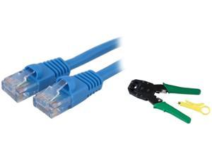 Insten 1180240 50 ft. Cat 5E Blue Color Patch cable