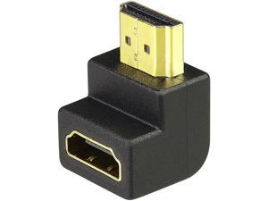 Insten 1668031 HDMI F/M Right Angle Adapter