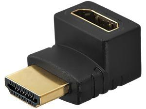 Insten 1932398 HDMI M/F 270-degree Right Angle Adapter
