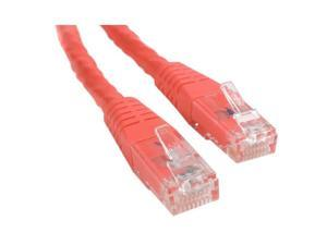 StarTech.com 6 ft Red Molded Cat6 UTP Patch Cable - ETL Verified
