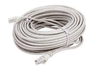 VCOM VC511100GY 100 ft. Cat 5E Gray Molded Patch Cable