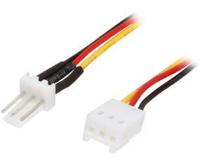"VCOM VC-POW3EXT 12"" 3-Pin to 3-Pin Fan Extension Cable"