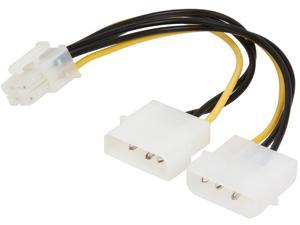 VCOM VC-POWPCIE 6-Pin PCI-Express Extender Cable for Power Supply