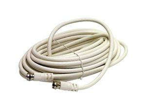 STEREN Model BL-215-406WH 5 - 10 ft. Coaxial Patch Cable