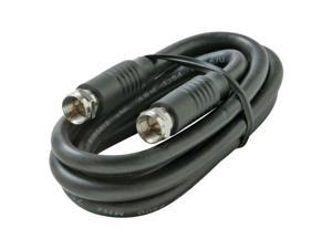 "STEREN Model BL-215-403BK 36"" Coaxial Patch Cable"