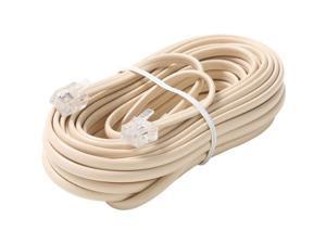 STEREN Model BL-324-025IV 25 ft. Premium Telephone Line Cable