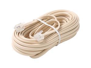 STEREN Model BL-324-050IV 50 ft. Premium Telephone Line Cable