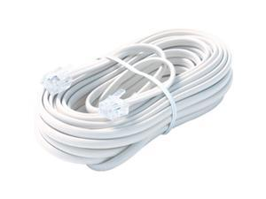 STEREN Model BL-324-100WH 100 ft. Premium Telephone Line Cable