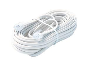 STEREN Model BL-324-025WH 25 ft. Premium Telephone Line Cable