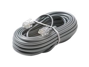 STEREN Model 304-050SL 50 ft 4C Telephone Line Cord
