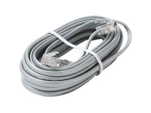 STEREN Model 314-007SL 7 ft 26AWG/4C Telephone Line Cord