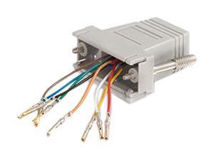 C2G RJ45/DB15F Modular Adapter