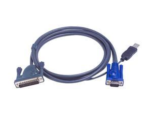 ATEN 19.69 ft. KVM USB Cable 2L5206UP