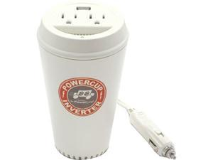 ORIGINAL POWER 90309 PowerCup 200/400 Watt Mobile Inverter with USB Power Port