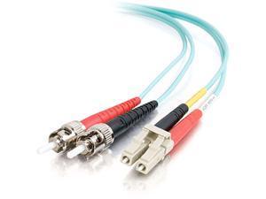 C2G 10Gb Fiber Optic Duplex Patch Cable - Plenum-Rated