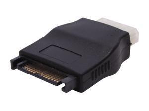 Nippon Labs SATA to Molex Power Adapter SATA-FM SATA 15 Pin male to Molex 4 pin female adaptor  for SATA I and SATA II Hard Drive Model SATA-FM
