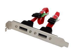 Nippon Labs SATA Bracket Internal SATA to External SATA Slot 2x M/F SATA Bracket for SATA I and SATA II Hard Drive  Model SATA-S