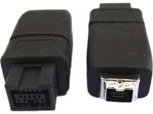 Professional Cable FW-9M4F FireWire 900 to 400 Adapter  - 9 Male to 4 Female