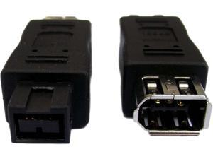 Professional Cable FW-9M6F FireWire 900 to 400 Adapter  - 9 Male to 6 Female