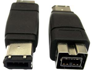 Professional Cable FW-9F6M FireWire 900 to 400 Adapter  - 9 Female to 6 Male