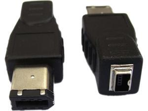 Professional Cable FW-6M4F FireWire 400 Adapter  - 6 Male to 4 Female
