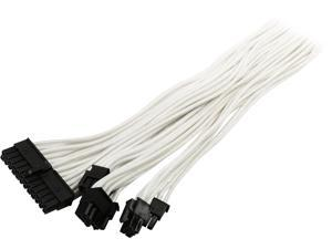 "Phanteks PH-CB-CMBO_WT 19.68"" Cables - Internal Power Cables                               F-F"