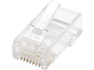 Intellinet Network Solutions 502344 100-Pack Cat6 RJ45 Modular Plugs