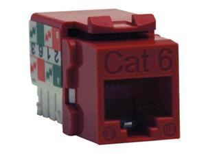 TRIPP LITE N238-001-RD Cat6/Cat5e 110 Style Punch Down Keystone Jack