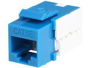 StarTech.com Cat5e RJ45 Keystone Jack Blue - 110 Type