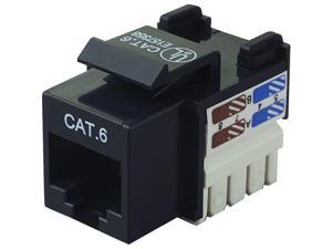BELKIN R6D026-AB6 Cat6 Keystone Jacks Black