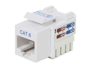 BELKIN R6D026-AB6-WHT Cat6 Keystone Jacks White