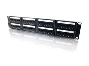 C2G 03854 48-Port Cat5E 110-Type Patch Panel