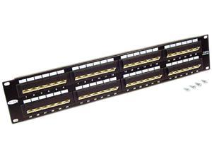 BELKIN F4P338-48-AB5 48-Port CAT 5e Patch Panel