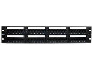 BELKIN C-PP5-48-F-BK 48-Port Rack-Mount Patch Panel - CAT5e 700 Series