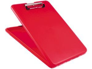 """SlimMate Storage Clipboard, 1/2"""" Capacity, Holds 8 1/2w x 12h, Red"""