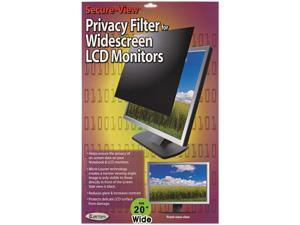 "Secure View Lcd Monitor Privacy Filter For 20"" Widescreen"