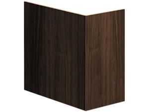 Voi End Panel Support, 16W X 30D X 28-1/2H, Columbian Walnut