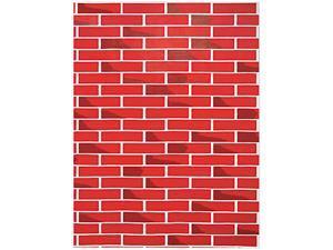 "Fadeless Designs Bulletin Board Paper, Brick, 50 Ft X 48"""