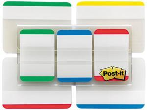 "Post-it 86VAD1 - Tabs Value Pack, 1"" and 2"", Assorted, 114/PK"