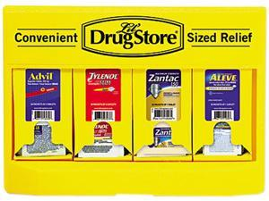 Lil' Drugstore 71613 Single Dose Medicine Dispenser, 110-Pieces, Plastic Case