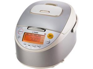 Tiger JKT-B10U Induction Heating Rice Cooker and Warmer, 11 Cups Cooked/5.5 Cups Uncooked Made in Japan