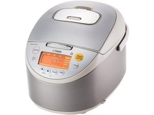 Tiger JKT-B18U Induction Heating Rice Cooker and Warmer, 20 Cups Cooked/10 Cups Uncooked Made in Japan
