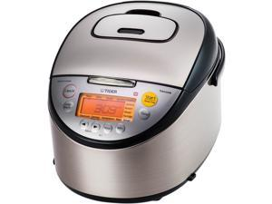 Tiger JKT-S18U Multi-Functional Induction Heating Rice Cooker, 20 Cups Cooked/10 Cups Uncooked Made in Japan