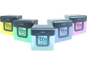 iHome iBT28B Bluetooth Color Changing Dual Alarm Clock FM Radio with USB Charging